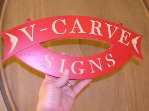 V carve Vcarve Text Data For Cnc Routers Mills And Sign Making