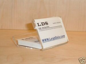 Set Of 10 Business Card Holder And Storage Display