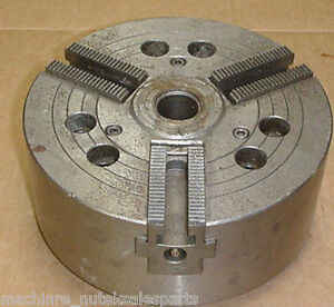 8 Howa Cnc 3 Jaw Power Lathe Chuck H01ma8 A6 _ Ho1ma8 _ 1 Center Hole