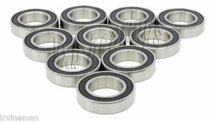 10 Wheel Sealed Ball Bearing 62032rs 17mm 40mm 12mm
