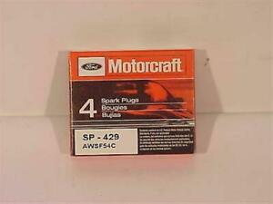 Ford Motorcraft Sp 429 Spark Plugs 4 Ea