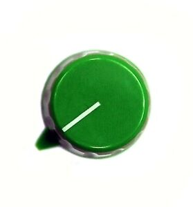 50pc Plastic Green Color Screw Knob Rn 110dh Size 28 7x21mm Hole 6 4mm Rohs