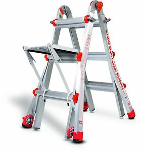 13 1a Little Giant Ladder Classic W Work Platform 10101lgw The Original New