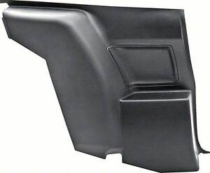 1970 1971 Firebird Trans Am Camaro Rear Seat Side Panel Arm Rest Left Driver