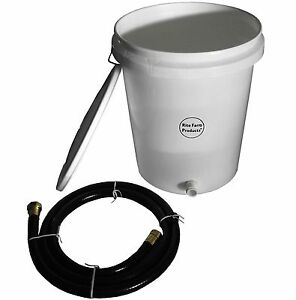5 Gallon Gravity Water Supply reserve Kit For Automatic Waterer Chicken Poultry
