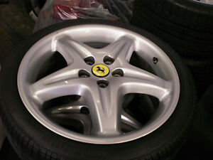 Ferrari 355 Factory Magnesium Front Wheel And Pirelli
