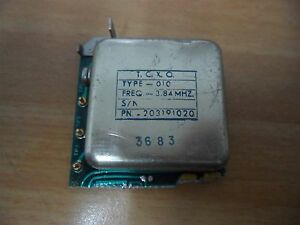 Rf Microwave Temperature Compensated Crystal Oscillator 3 84 Mhz