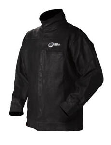 Miller 231091 30 Leather Welding Jacket Size 50 X Lrg