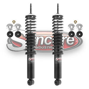 97 02 Ford Expedition Front Air To Coil Spring Shock Conversion Kit 4wd