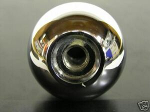 Chrome Ball 4 Speed 5 16 Shift Knob For Muncie Shifters