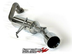 Tanabe Medalion Touring Exhaust 09 10 Honda Fit