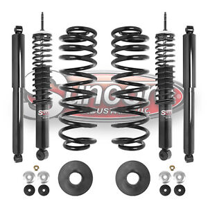 1997 2002 Ford Expedition 4wd Front Rear Air To Coil Springs And Shocks Kit
