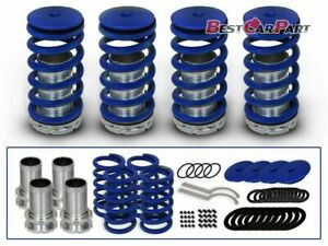 Bcp Blue 94 01 Acura Integra Lowering Coilover Coil Springs