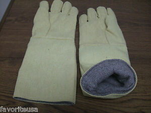 Made With Kevlar High Heat Resistant Gloves Furnace 18 Pair Melting Welding