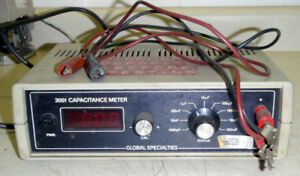 Global Specialties Corporation 3001 Capacitance Meter _ 3oo1