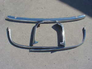 1955 56 Ford Mercury Convertible Windshield Mouldings