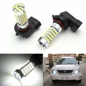 Xenon White 9005 Led High Beam Daytime Running Lights Kit For Lexus Toyota Mazda