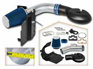 98 03 Dodge Durango 5 2 5 9l V8 Cold Air Intake System Blue Dry Filter