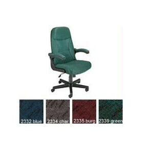 New Ofm Mobilearm Fabric Executive Conference Adjustable Chair W 4 Color Options