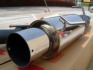 Hks Hi Power Exhaust 00 02 Ford Focus Zx3 2 0