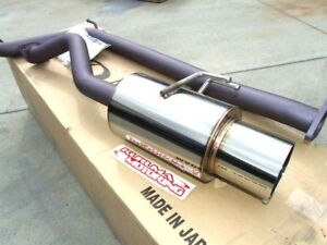 Apexi N1 Catback Exhaust 97 01 Prelude Bb6 Type Sh