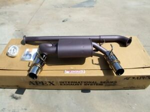 Apexi N1 Dual Exhaust For 03 08 Nissan 350z Z33