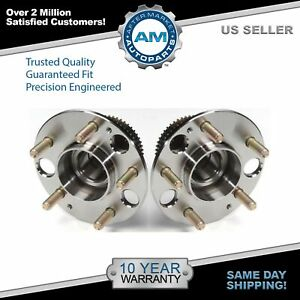 Rear Wheel Hub Bearing Pair For Acura Legend 91 94 95