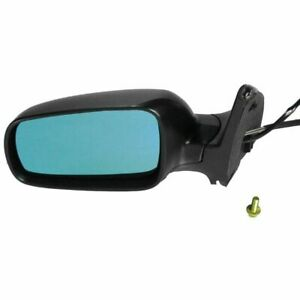 Manual Remote Folding Heated Tinted Mirror Left Lh Driver Side For Jetta Golf Vw
