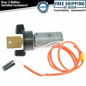 Ignition Lock Cylinder W Key Ac Delco For Chevy Olds Buick