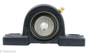 1 Ucp205 16 Self Align Pillow Block Cast Housing Mounted Ball Bearings One Inch