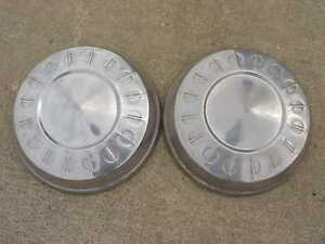 Dodge Plymouth Dog Dish Hubcaps