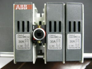 Osj30b6 150 Abb J Fuse Kit New In Fact Box Osj30b6150 Fusible Disconnect Kit
