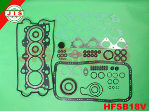 Acura Integra Gsr Type r B18c Full Gasket Set Hfsb18v