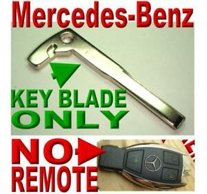2010 2012 Mercedes Benz Insert Key Blade Only For Smart Keyless Entry Remote Fob