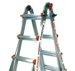 22 1a Classic Champion Little Giant Ladder Bundle Brand New