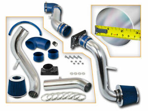 Bcp Blue 00 05 Mitsubishi Eclipse 2 4 3 0l Cold Air Intake Inductio Kit Filter