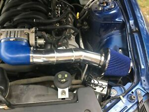 Bcp Blue 05 09 Ford Mustang 4 6l V8 Cold Air Intake Racing System Filter