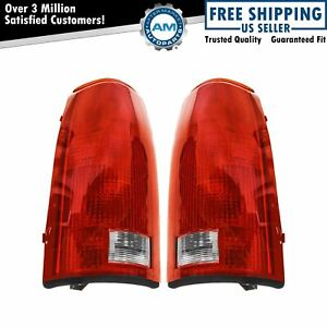 Tail Lights Set W Circuit Board Left Right Pair For 88 99 Chevy Gmc Cadillac