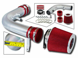 Bcp Red 97 03 F150 Expedition 4 6 5 4 V8 Ram Air Intake Induction Kit Filter