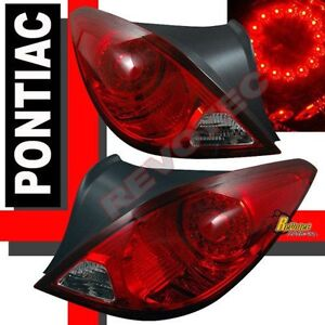 05 09 Pontiac G6 2 Door Coupe Gt Gtp Gxp Led Tail Lights Lamps 1 Pair