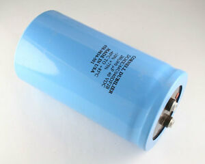 New 1 Pcs Of Cde 260000uf 40v Large Can Screw Terminal Capacitor 260000mfd 40 V