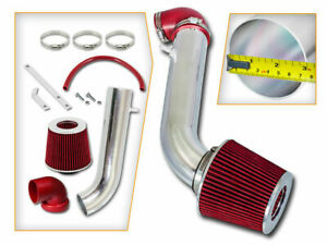 Bcp Red 95 99 Eclipse talon 2 0 N a Short Ram Air Intake Racing System Filter