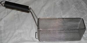 Basket Fry 12 5 x 4 x 6 Stainless 5003275 Free Shipping