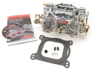 Edelbrock Performer Carburetor 750 Cfm 4bbl Manual Choke P n 1407 Square Bore