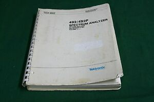 Tektronix 492 492p Service Manual Volume 1