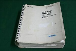 Tektronix 492 492p Service Manual Volume 2