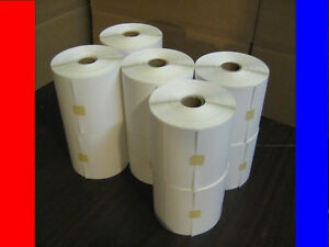 10 4x6 Zebra Direct Thermal Jumbo Rolls 400 4000 Labels
