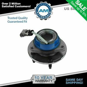 Driver Or Passenger Front Rear Wheel Hub And Bearing Assembly W Abs Sensor