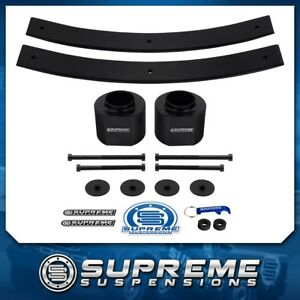 84 01 Jeep Cherokee Xj 3 Front 2 Rear Complete Lift Level Kit Pro 4x2 4x4