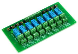 8 Dpdt Signal Relay Module Board Dc24v Version For Pic Arduino 8051 Avr Mcu